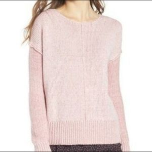 Rebecca Minkoff Reversible Mixed Knit Sweater NWT